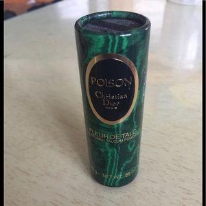 Poison By Christian Dior Paris Powder .88 OZ Small